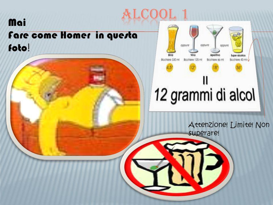 Alcool 1 Mai Fare come Homer in questa foto!