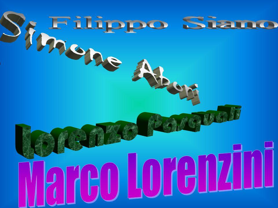Filippo Siano Simone Aboni Lorenzo Pasquali Marco Lorenzini