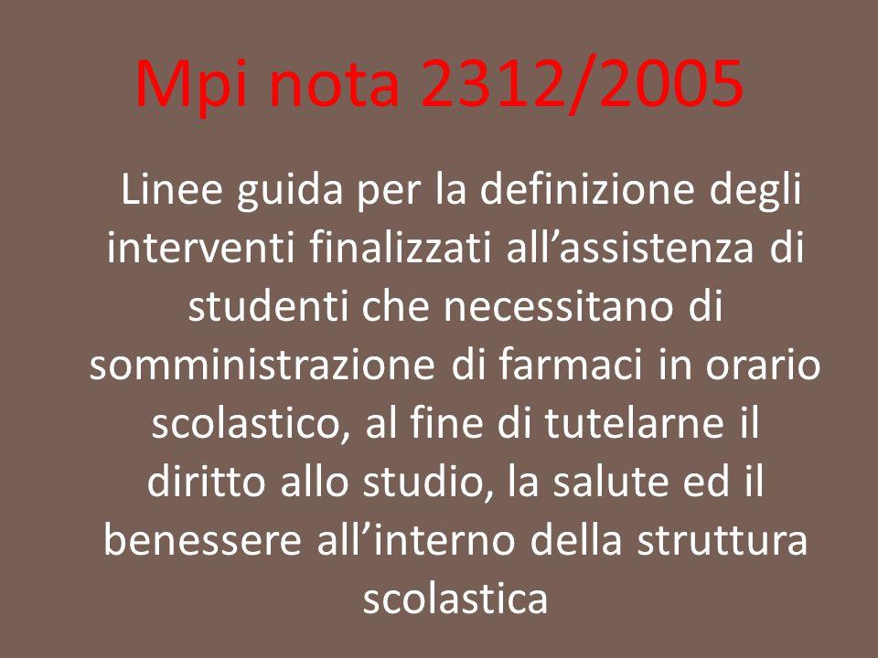 Mpi nota 2312/2005