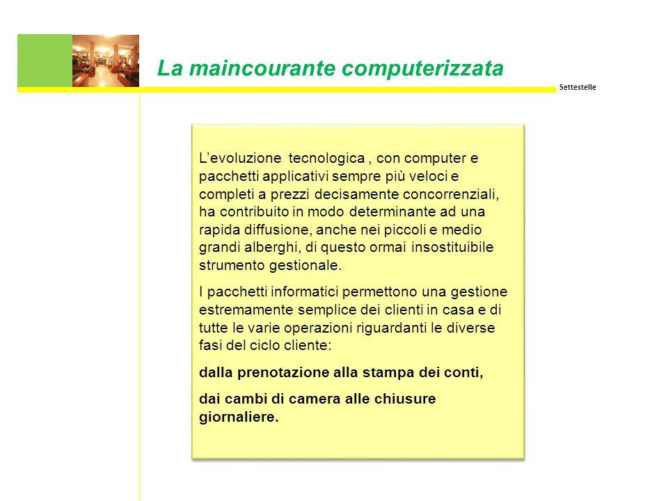 La maincourante computerizzata