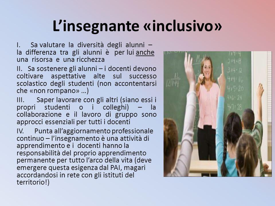 L'insegnante «inclusivo»