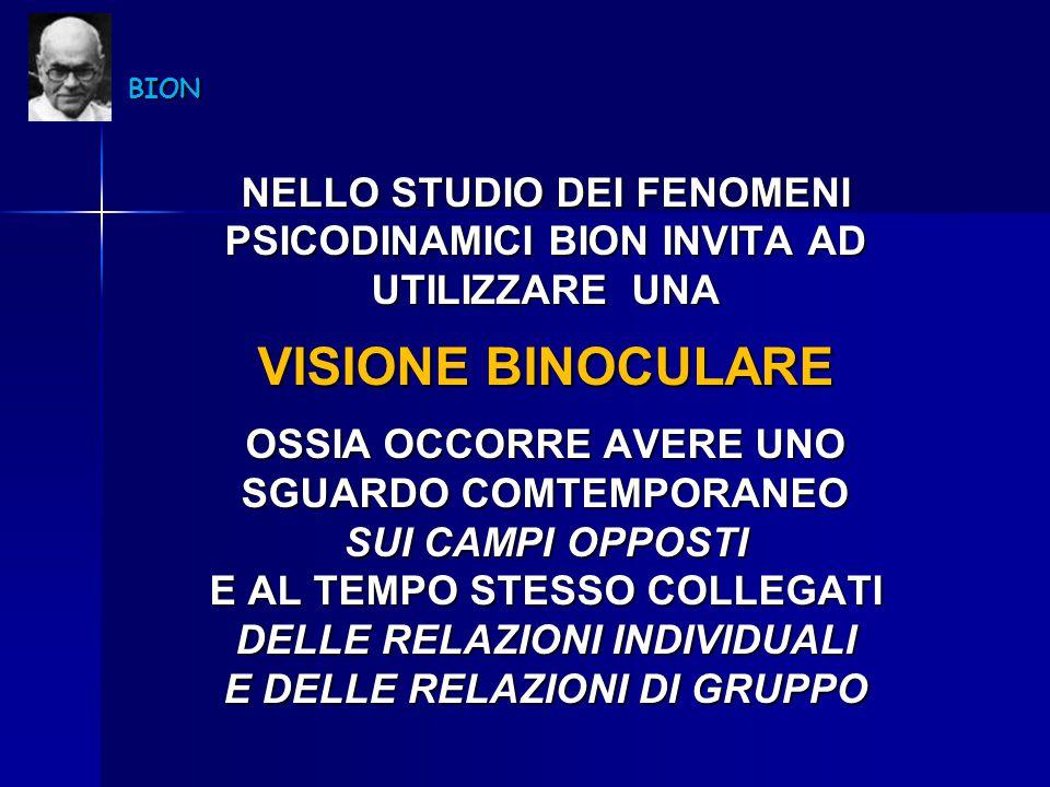 VISIONE BINOCULARE NELLO STUDIO DEI FENOMENI