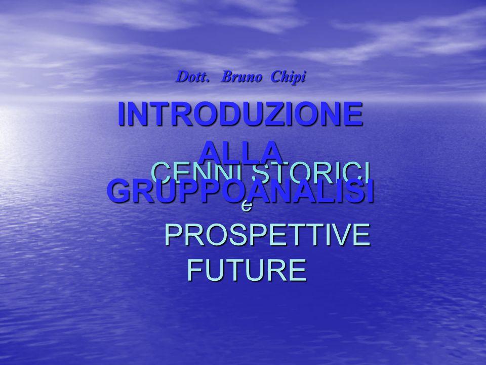 CENNI STORICI e PROSPETTIVE FUTURE