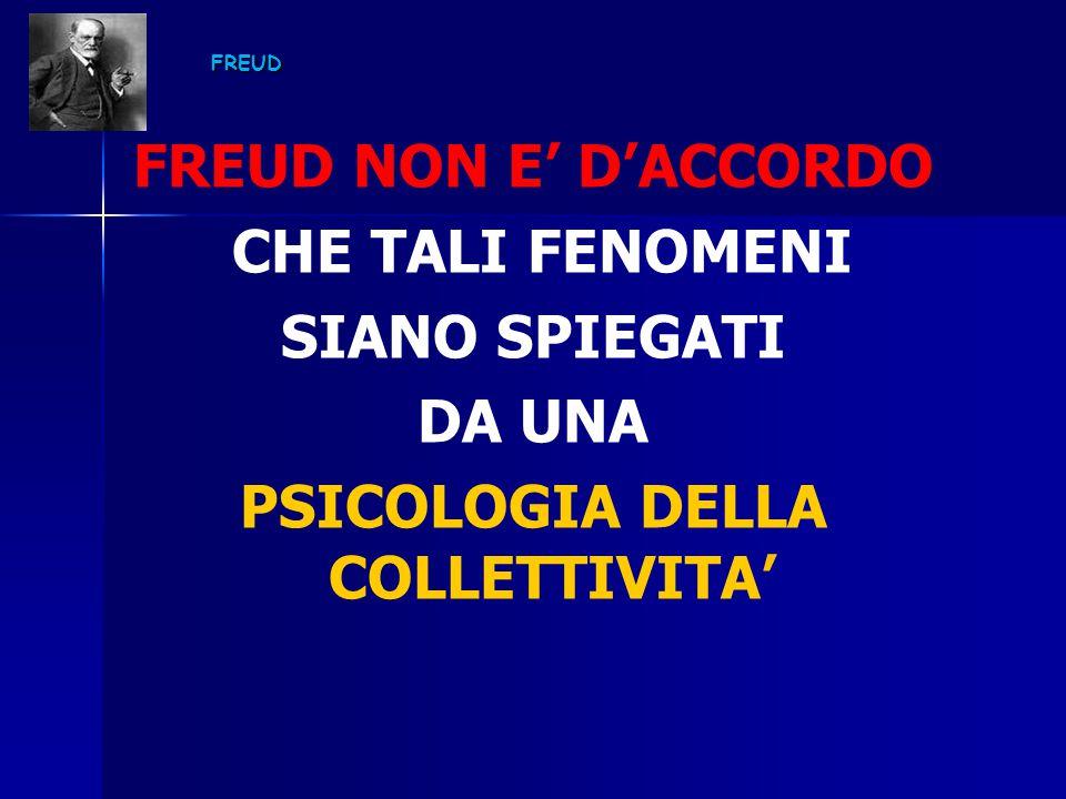 PSICOLOGIA DELLA COLLETTIVITA'