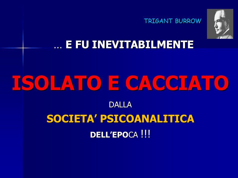 SOCIETA' PSICOANALITICA