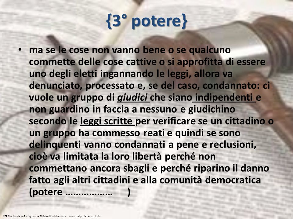 {3° potere}