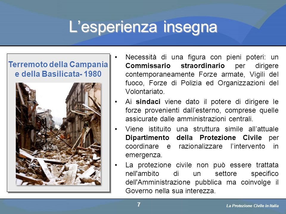 Terremoto della Campania e della Basilicata- 1980