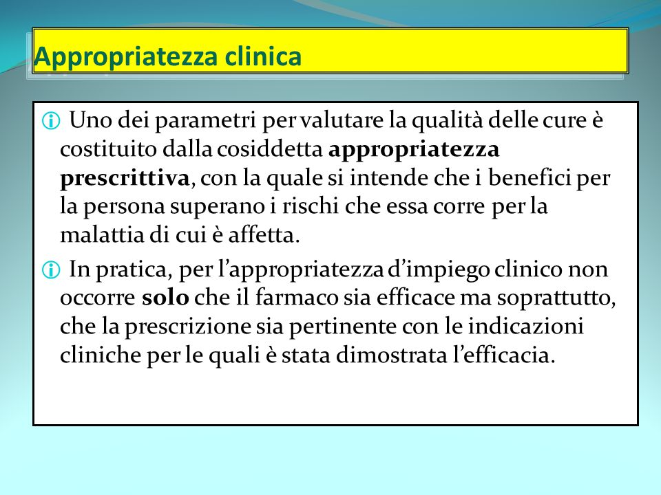 Appropriatezza clinica