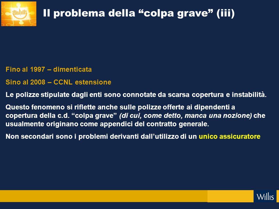 Il problema della colpa grave (iii)