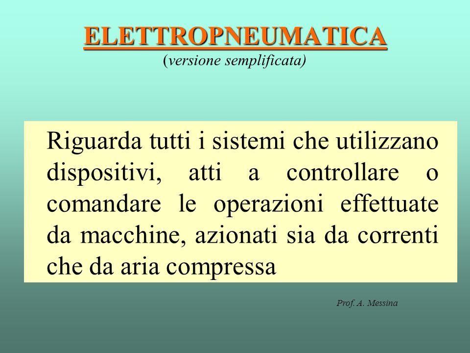 ELETTROPNEUMATICA (versione semplificata)