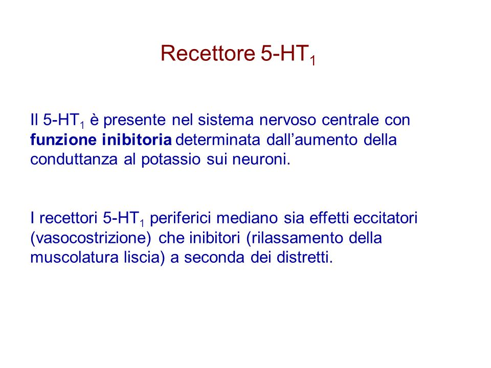 Recettore 5-HT1