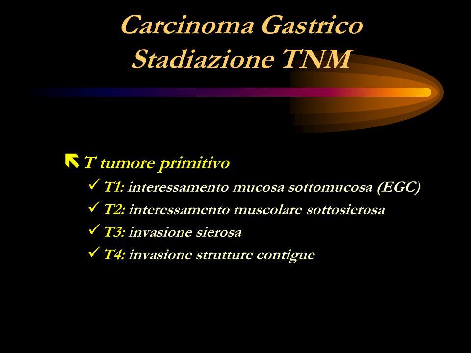 Carcinoma Gastrico Stadiazione TNM