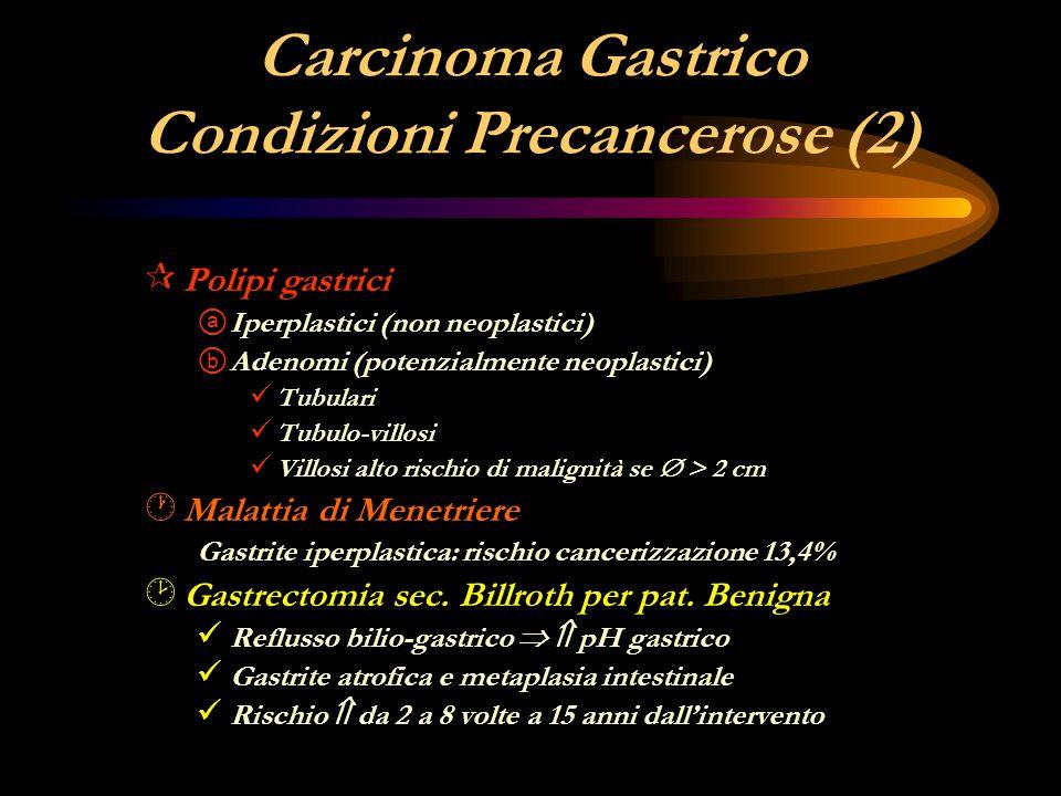 Carcinoma Gastrico Condizioni Precancerose (2)