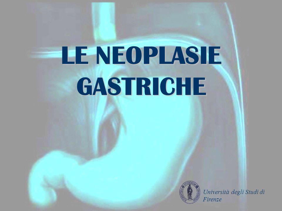 LE NEOPLASIE GASTRICHE