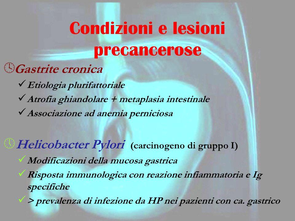 Condizioni e lesioni precancerose