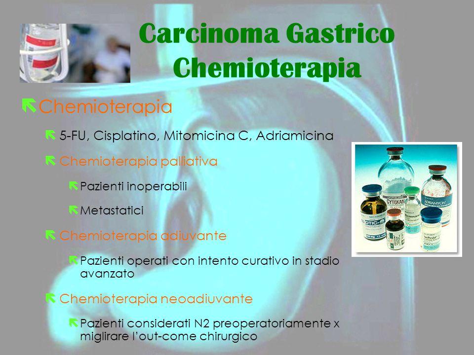 Carcinoma Gastrico Chemioterapia