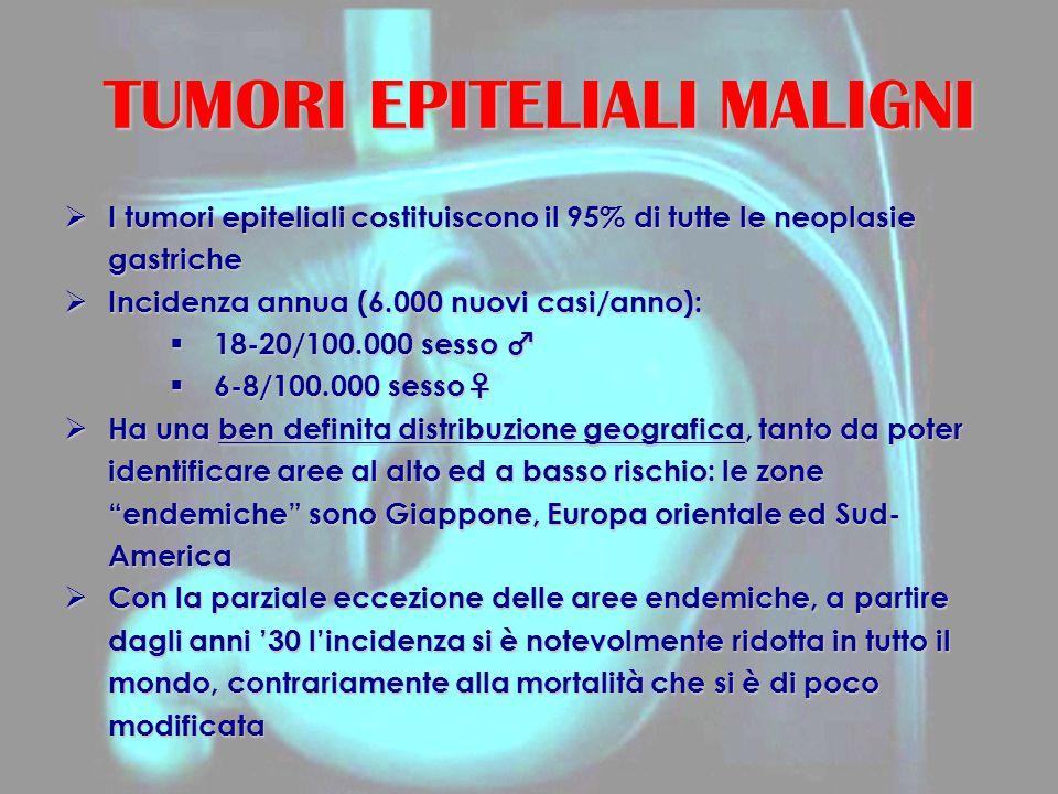 TUMORI EPITELIALI MALIGNI