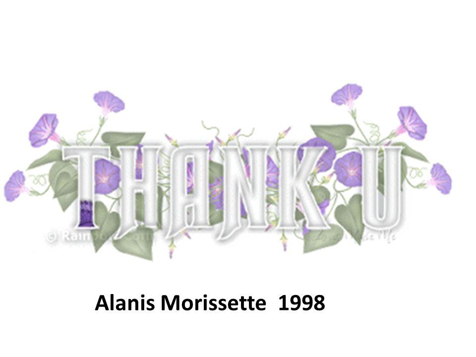 Alanis Morissette 1998