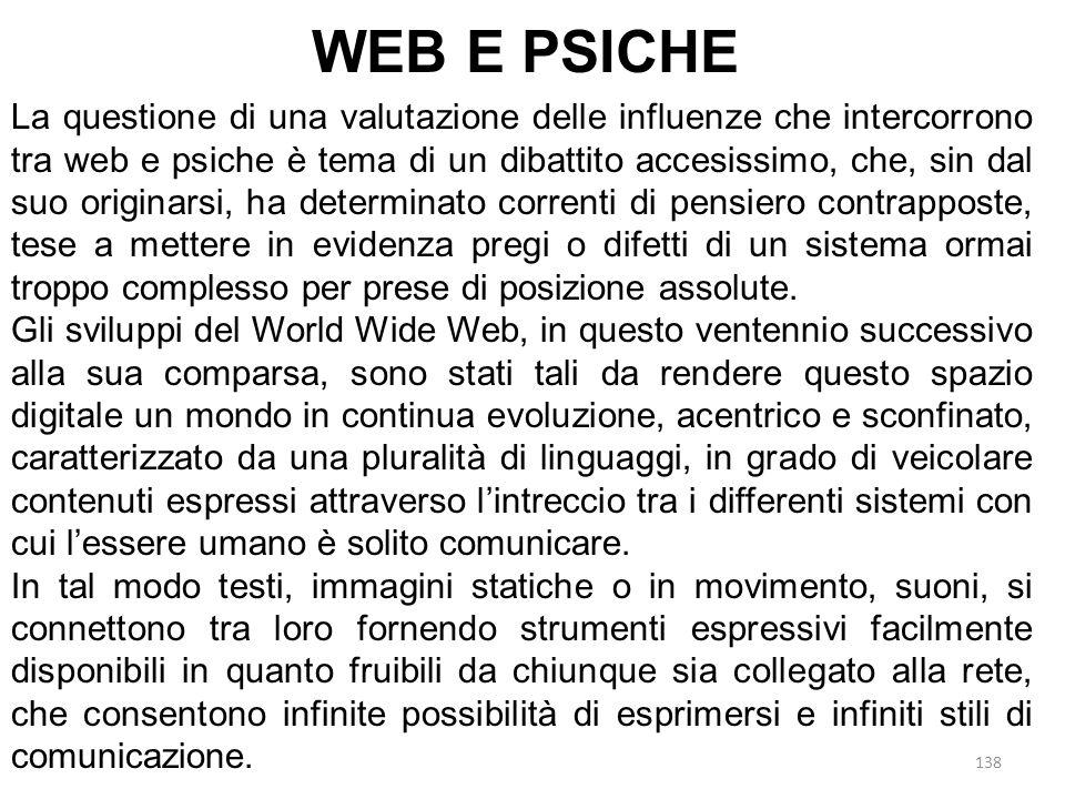 WEB E PSICHE
