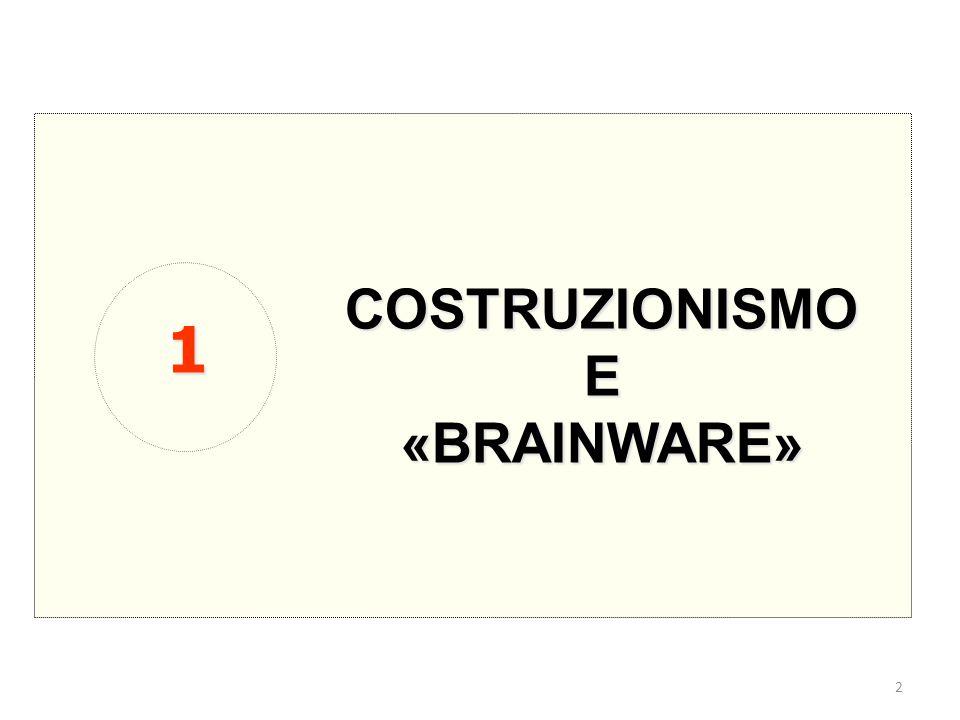 COSTRUZIONISMO E «BRAINWARE» 1