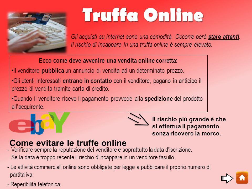 Ecco come deve avvenire una vendita online corretta: