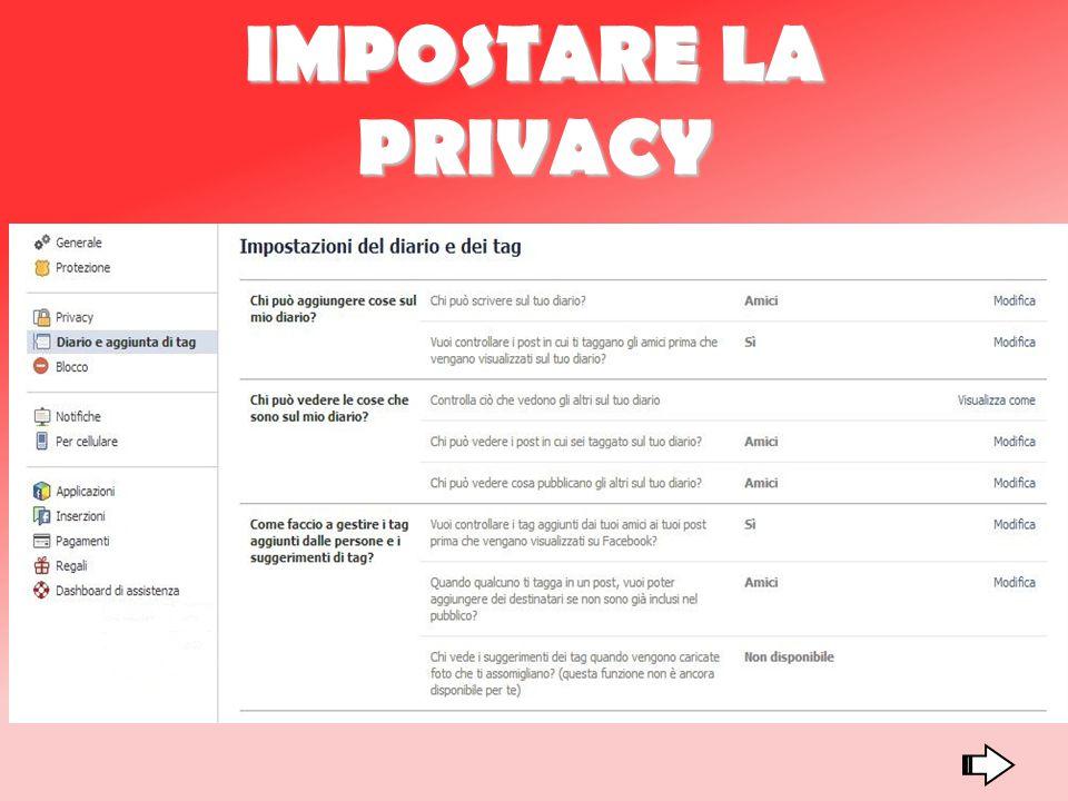 IMPOSTARE LA PRIVACY