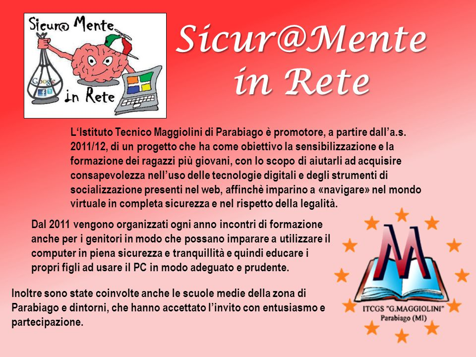 Sicur@Mente in Rete.