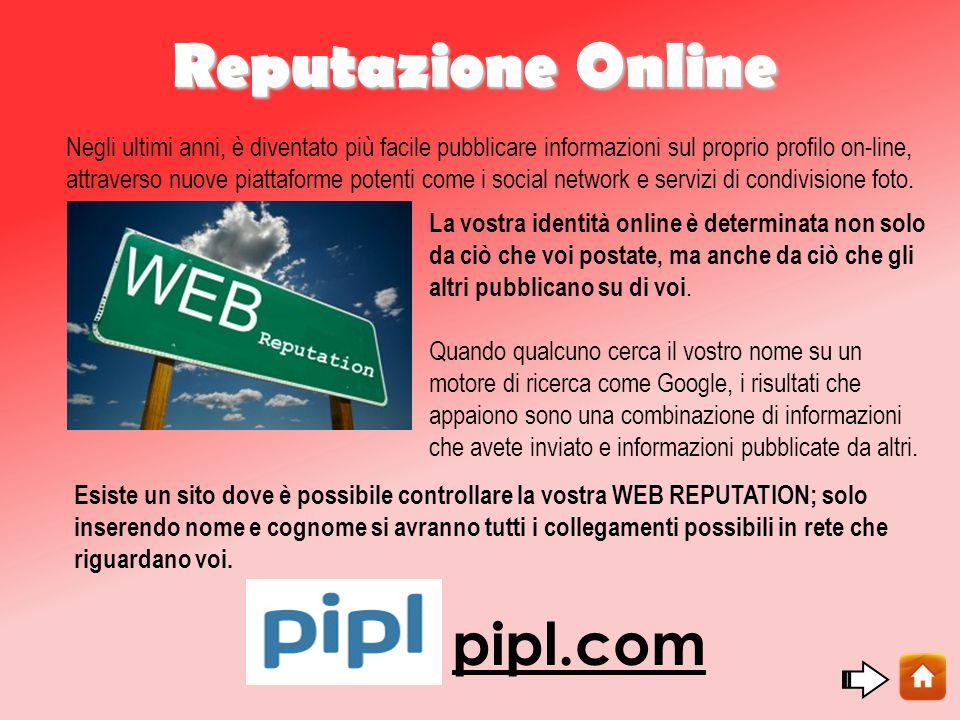 Reputazione Online pipl.com