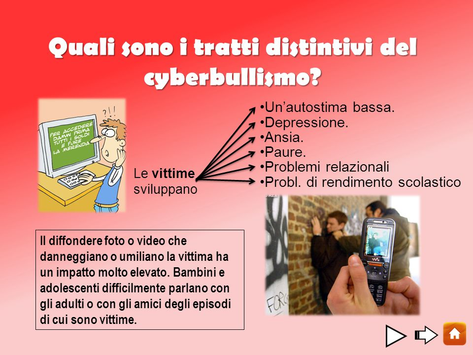 Quali sono i tratti distintivi del cyberbullismo