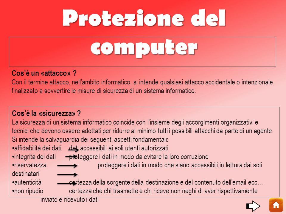 Protezione del computer