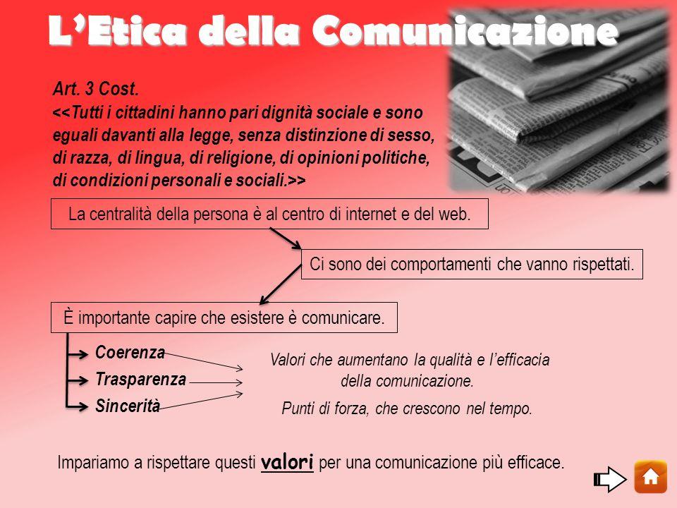L'Etica della Comunicazione