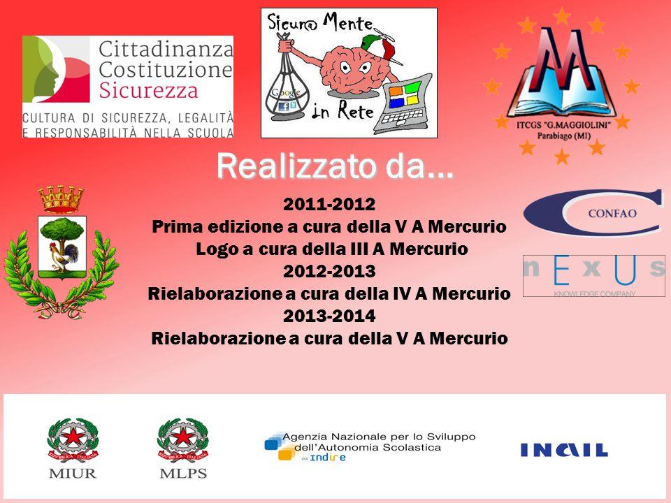 Realizzato da... 2011-2012 Prima edizione a cura della V A Mercurio