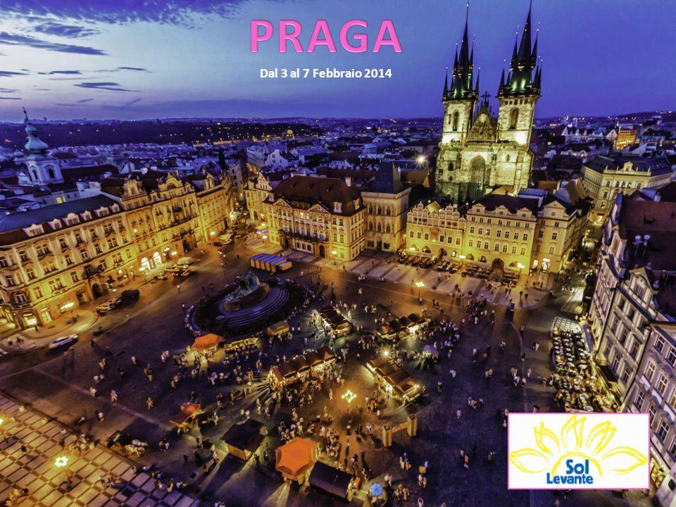 PRAGA Dal 3 al 7 Febbraio 2014