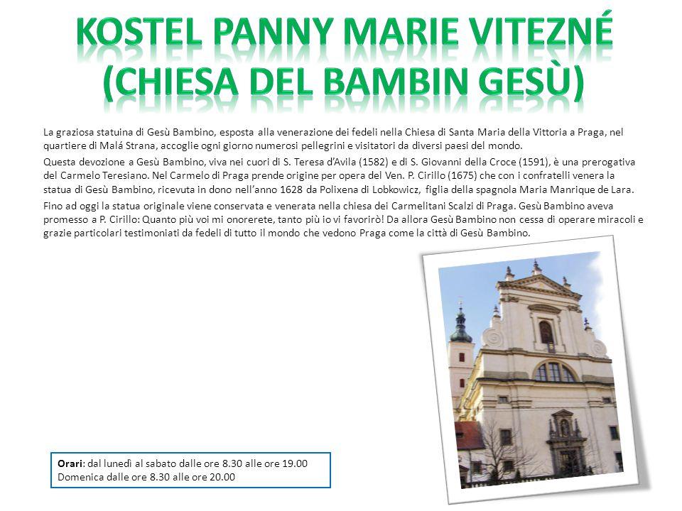 Kostel Panny Marie Vitezné (Chiesa del Bambin Gesù)