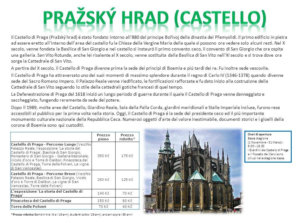 Pražský Hrad (Castello)