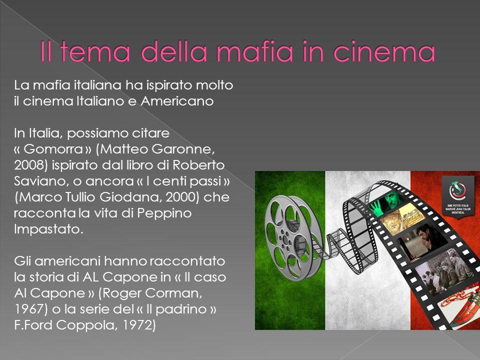 Il tema della mafia in cinema