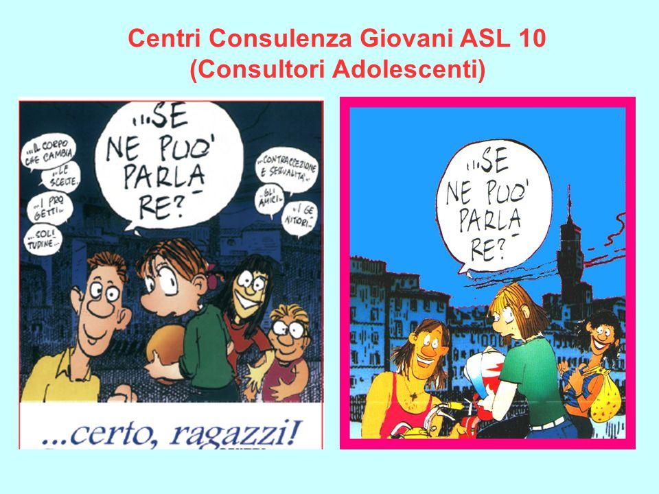 Centri Consulenza Giovani ASL 10 (Consultori Adolescenti)