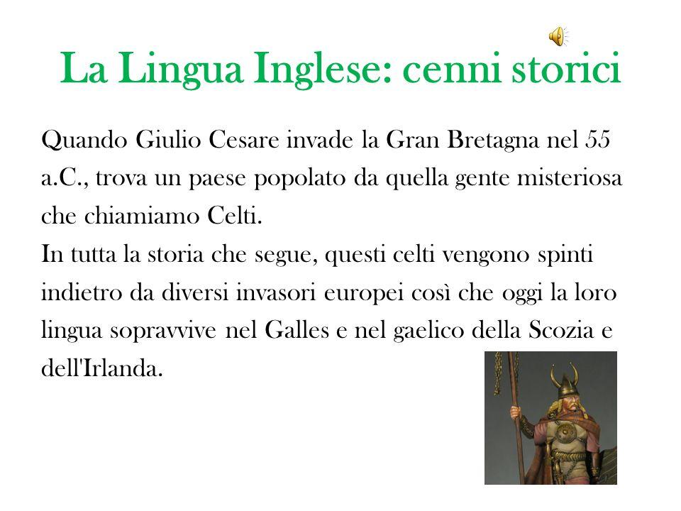 La Lingua Inglese: cenni storici