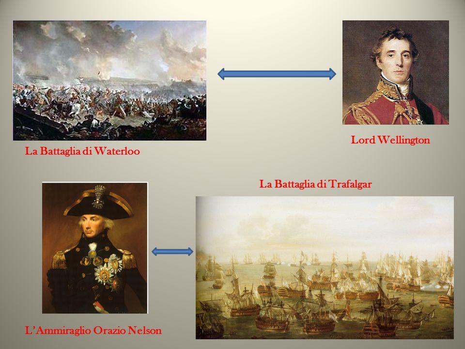 Lord Wellington La Battaglia di Waterloo La Battaglia di Trafalgar L'Ammiraglio Orazio Nelson