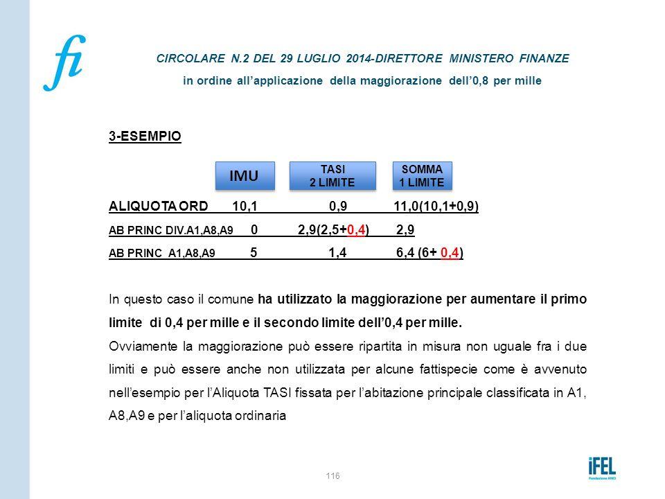 IMU 3-ESEMPIO ALIQUOTA ORD 10,1 0,9 11,0(10,1+0,9)