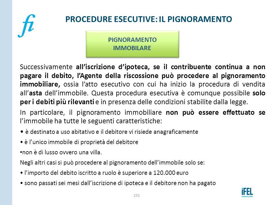 PROCEDURE ESECUTIVE: IL PIGNORAMENTO