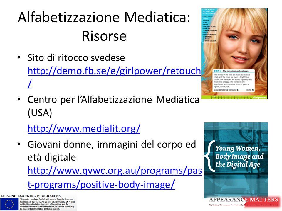 Alfabetizzazione Mediatica: Risorse