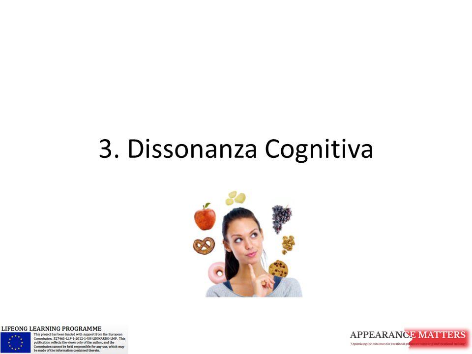 3. Dissonanza Cognitiva