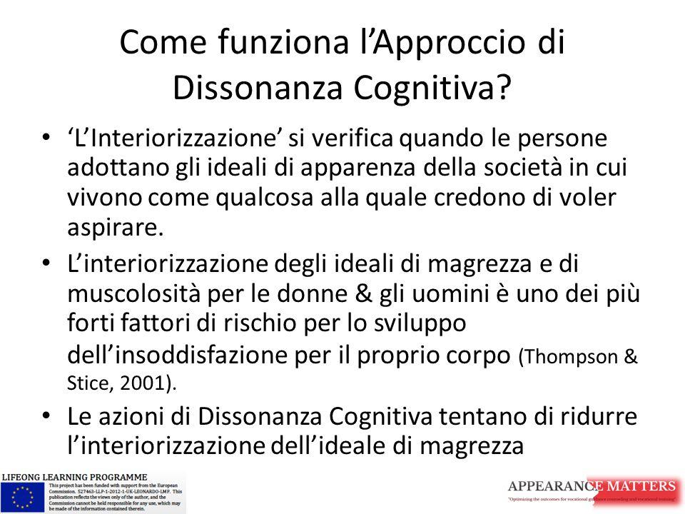 Come funziona l'Approccio di Dissonanza Cognitiva