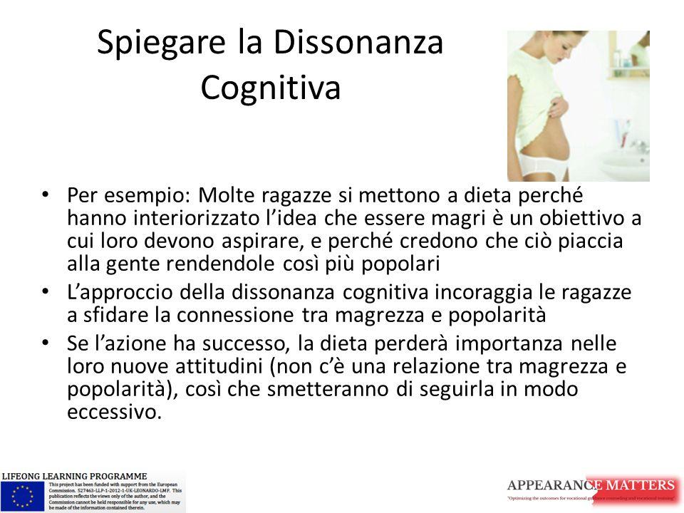 Spiegare la Dissonanza Cognitiva