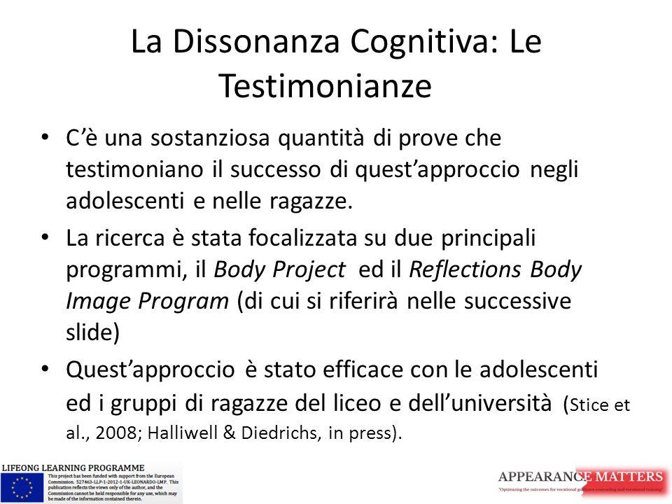 La Dissonanza Cognitiva: Le Testimonianze