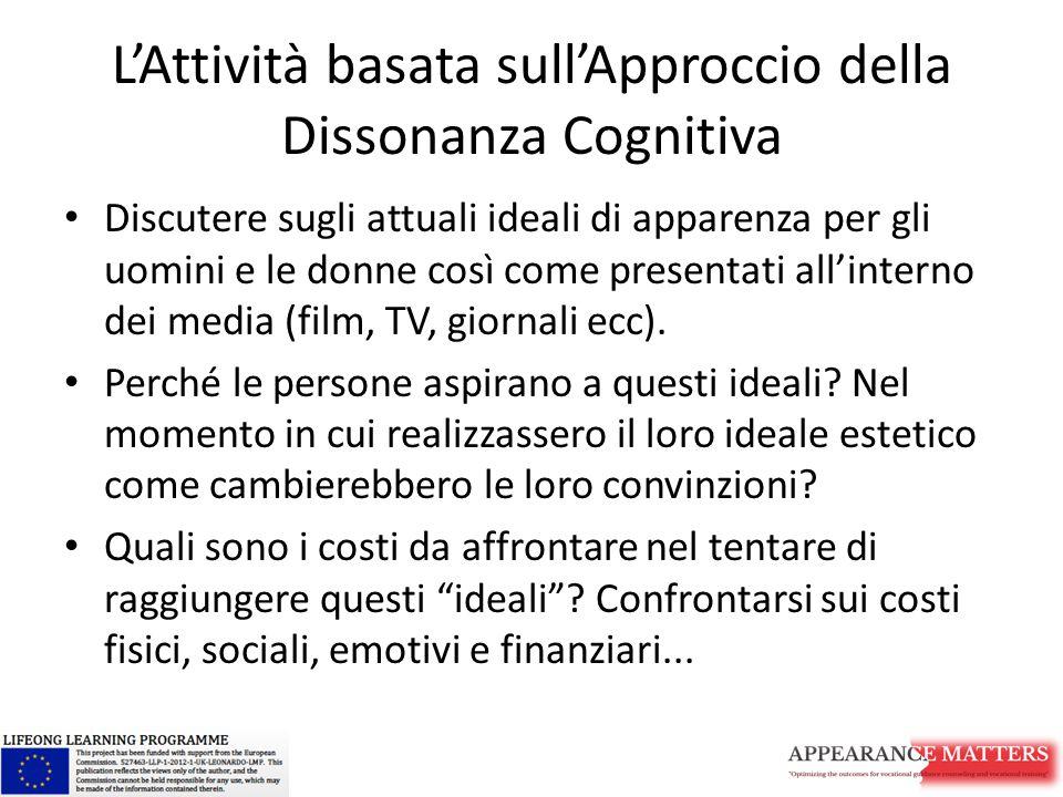 L'Attività basata sull'Approccio della Dissonanza Cognitiva