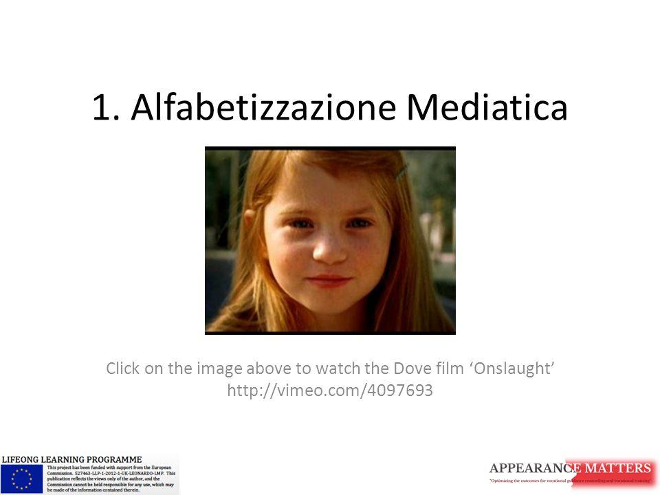 1. Alfabetizzazione Mediatica