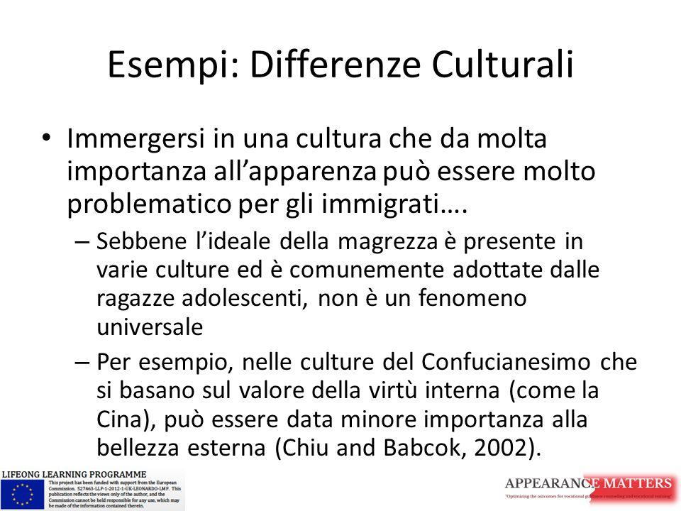 Esempi: Differenze Culturali