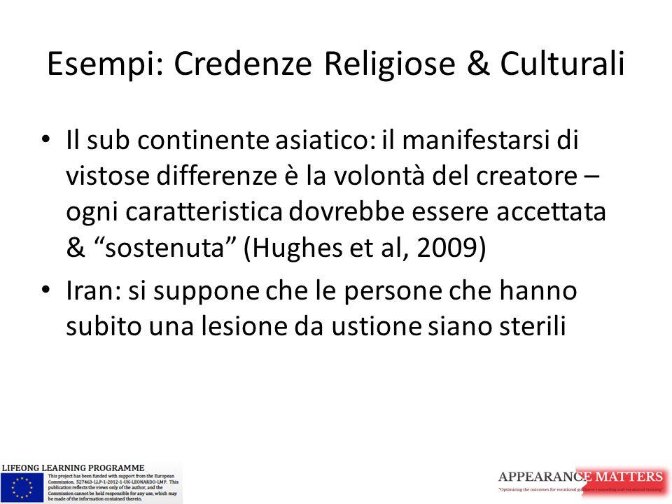 Esempi: Credenze Religiose & Culturali